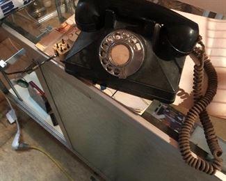 Vintage northern electric phone