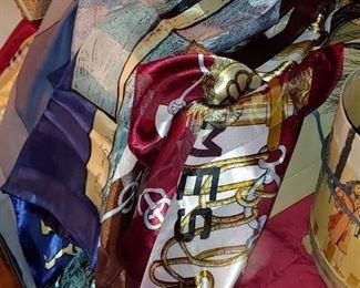 Gorgeous silk scarves