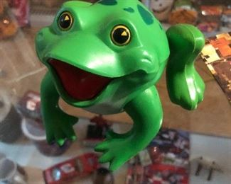 Frisky Frog Toy, Fisher Price, 1971, Hopping toy