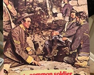 The common soldier of the civil war 1973 Magazine, civil war times illustrated