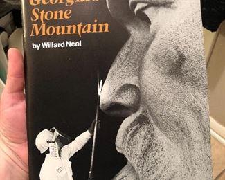 GEORGIA'S STONE MOUNTAIN by WILLARD NEAL (1970) Brochure
