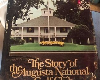 STORY OF THE AUGUSTA NATIONAL GOLF CLUB by Roberts First 1st Edition