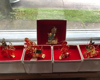 Lunt collectible ornaments