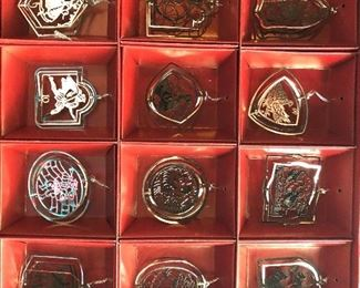 International Silver Company 12 Days of Christmas Collection