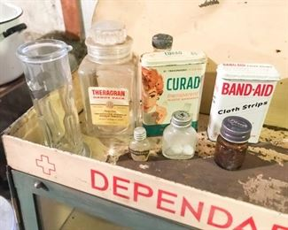 Vintage medical items
