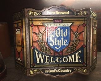 Authentic beer signs