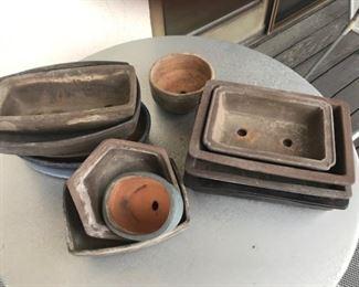 bonsai pottery