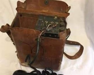 WWII Radios, Toys and Items