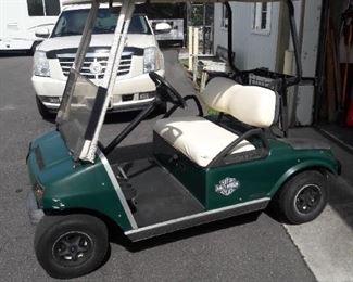 Club Car Golf Cart, New Batteries