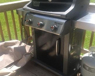 Weber Three Burner Spirit Grill very clean see next picture