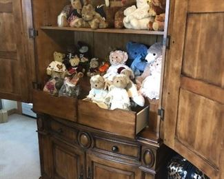 Armoir and Stuffed Bears