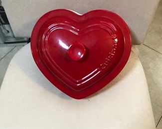 Cuisenart Red Heart Bakeware