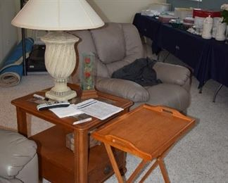 T.V. Table and End Table