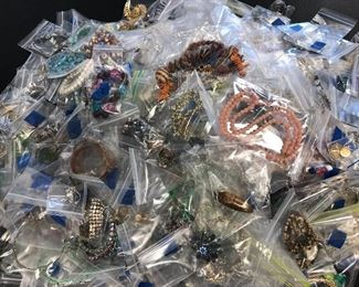 OVER 300 pieces VINTAGE JEWELRY ADDED