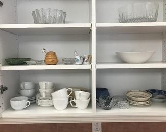 dishes, glassware, small appliances, cookware and more!