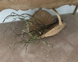 Basket and branches