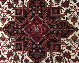 Center Medallion on area rug