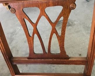 Detail on basset chairs