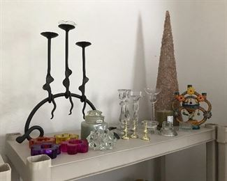 Candle and votive stands and holders