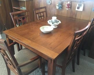 Heavy Duty Dining Table w/Five Chairs