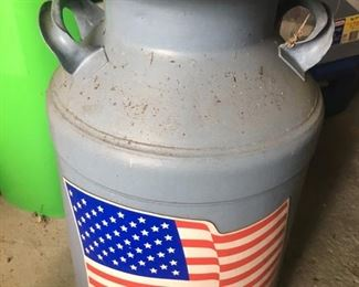 Antique Patriotic Milk Jug