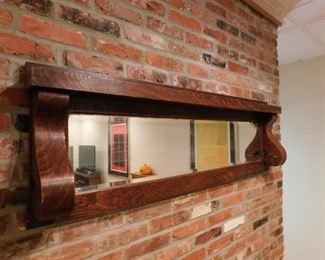 Oak Buffett Mirror Top