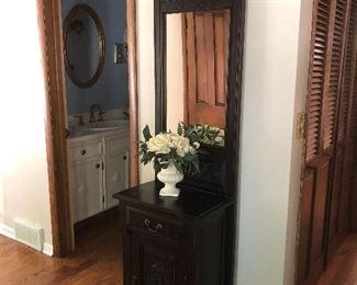Entryway mirror/cabinet