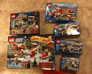 LEGOS - unopened boxes