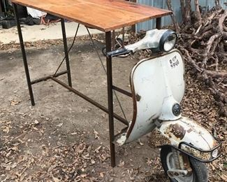 Scooter bar table priced to fly!