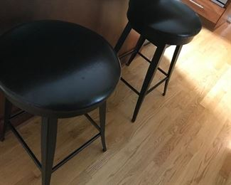 Leather Top Stools