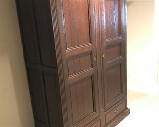 Large Vintage Armoire from Belgium