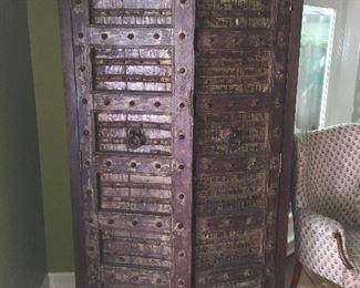 Rustic armoire