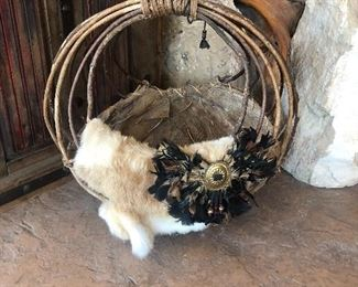 Native American basket.  $50