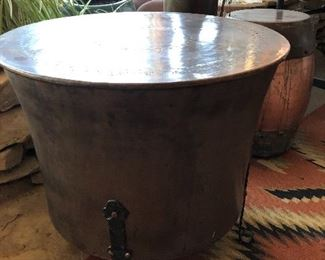 Copper table is $200