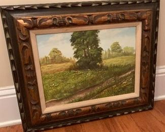Lovely signed oil