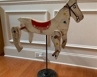 Primitive Toy Horse