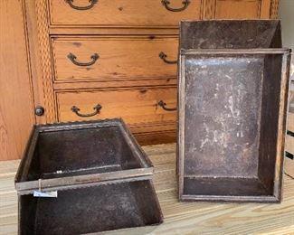 Vintage Rustic Storage Crates