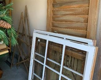 Old Windows and Shutters
