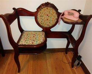 Telephone Chair Excellent condition
