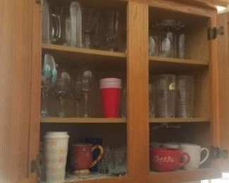 everything must go. Glasses, cups etc