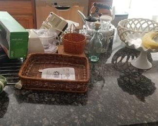 Lots of items. NO dollar store items in this home