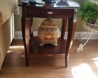 ceramic pieces throughout home