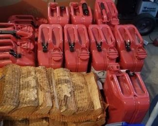 10 ( 5 gallon metal gas cans) paid $84 each when purchased