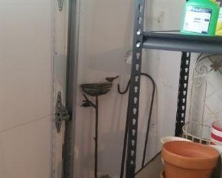 metal outdoor plant holders