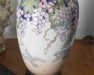 stunning ceramic lamps throughout