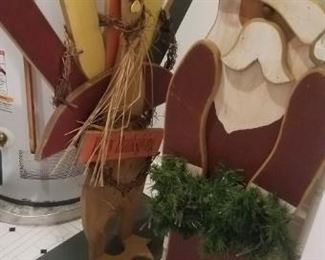 wooden holiday decor
