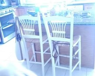 kitchen island stools. have 3 all togehter
