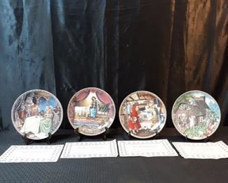 Knowles Collectors plates childrens fairytales