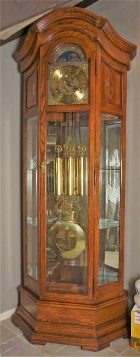 Impressive grandfather clock