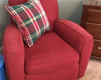 Red Chair from  ROWE Furniture